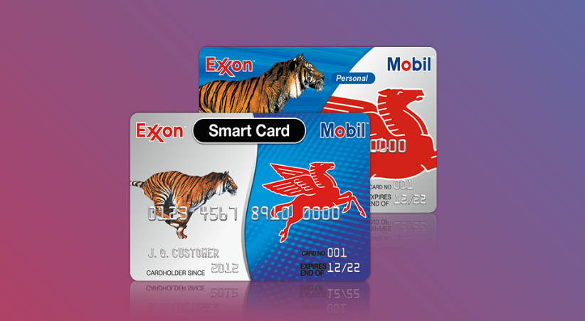 Exxon Mobile Smart Card Logo