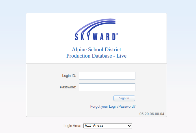 Skyward Alpine School District Login